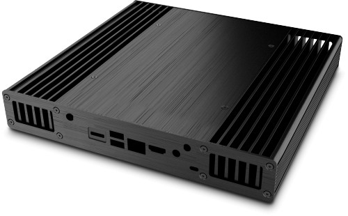 Rear view of the Plato X8
