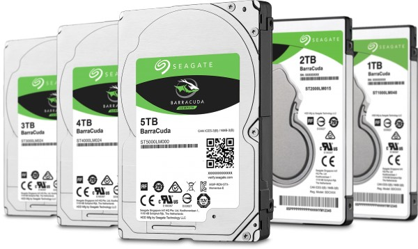 Seagate BarraCuda 2.5in Hard Disk Drives