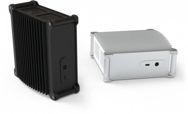 Streacom's compact DB1, vertical or horizontal orientation