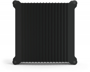 Heatsink view, black