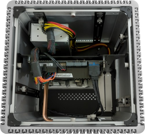 Image showing components installed with top cover removed (components not supplied)